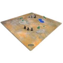 4 x 4' - Bloodstone Desert