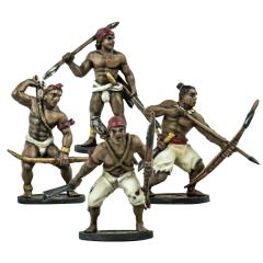 Native American African Warriors Unit