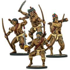 Native American Warrior Archer Unit