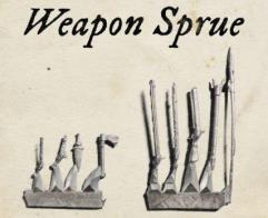 Weapons Sprue Kit