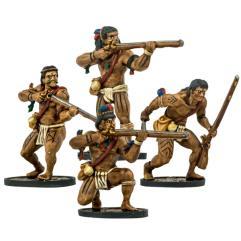Native American Warrior Musketeers