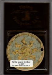 Faceplate - White Mana Symbol