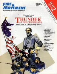 "#60 ""Thunder at the Crossroads, Lee Invades the North, Test of Arms, Chieftain"""