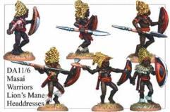 Masai w/Lions' Mane Headdress