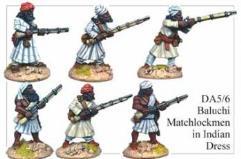 Baluchi Matchlockmen in Indian Dress II