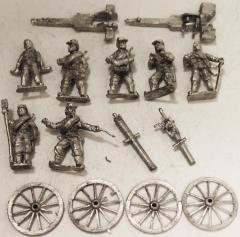 Franco Prussian Guns & Crews