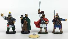 King Arthur, Augustine, Hengist & Infantryman #1