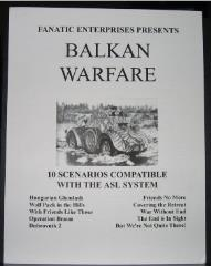 Balkan Warfare