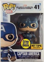 Captain America (Glow-in-the-Dark Hot Topic Exclusive)