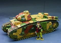 Char B1 Bis w/Tank Commander- France 1940 (Limited Edition)