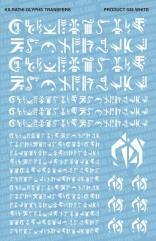 Kilrathi Glyphs