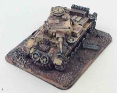Destroyed Panzer III J #1