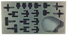 "1 1/2"" Army Tray - Rebel #2 for P.A.C.K. 432"