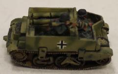 German Captured - British Mortar Carrier
