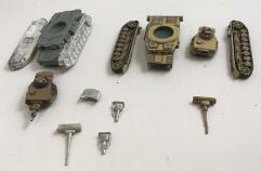 Panzer IV w/D & G Turrets 2-Pack