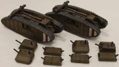 Mk IV Tank Collection #1