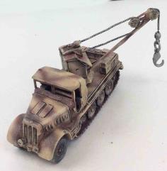 Sd Kfz 9 w/Crane Arm #1