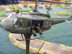 UH-1 Huey Helicopter Slick w/Optional Gunship Armaments
