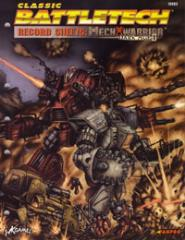 Record Sheets - Mechwarrior Dark Age I