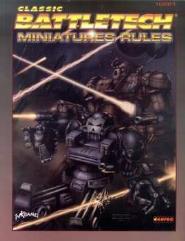 Classic Battletech Miniatures Rules