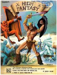 High Fantasy (2nd Printing)
