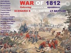 War of 1812 Scenario Set 1 - The Early Battles