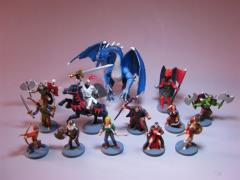 Defenders of the Realm - Pre-Painted Miniatures Set