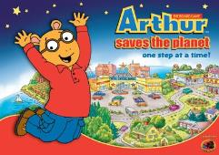 Arthur Saves the Planet - The Board Game