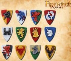 Fantasy Knights Shields