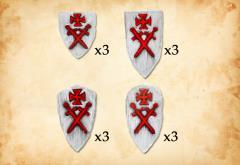 Livonian Order Shields II