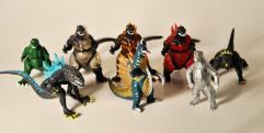 Godzilla Mini Figure Collection