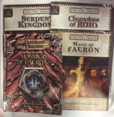 Forgotten Realms d20 Collection - 4 Books!