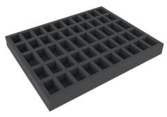 40mm Full Size Foam Tray w/50 Compartments