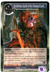 Forbidden Spell of the Undead Lord (R)