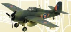 F4F Wildcat - No. 842 Sq (Mart let IV Royal Navy)