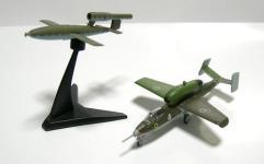 Heinkel He 162A w/V1 Rocket