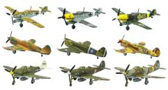 Curtiss P-40E Warhawk - 112 Squadron RAF