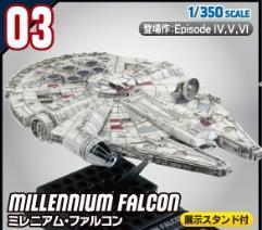 Millennium Falcon (1/350 Scale)