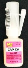 Zap-A-Gap CA Super Glue (1/4 oz.)