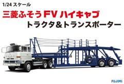 Mitsubishi Fuso FV High Cab Tractor & Car Transporter