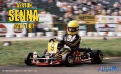 Aryton Senna Mini-Kart 1981