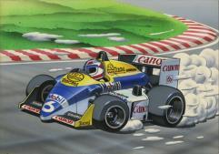 Formula One - Fw-11B