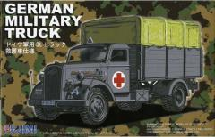 German Military Truck - Medical Transporter