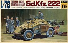 Sd.Kfz.222 German Light Armoured Car