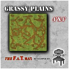 4' x 4' - Grassy Plains #1