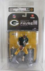 NFL Series 1 - Brett Favre, No Cpatain's Patch (AFA Graded 9.0)