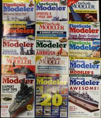 FineScale Modeler Magazine Collection #1 - 15 Issues!