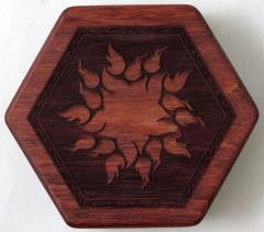 Purpleheart - Beehive, Fireflower