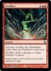 Fireblast (C) (Foil)