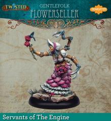 Gentlefolk Flower Seller (Metal)